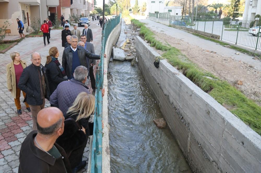 Mersin'de sele karşı tedbir alınıyor
