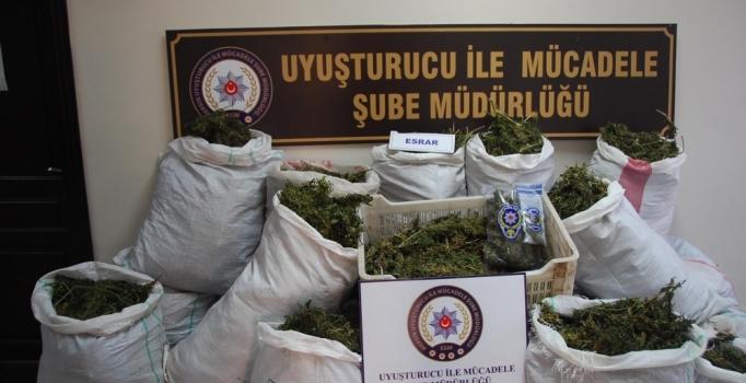 Mersin'de uyuşturucu ve kaçak sigara operasyonu: 12 gözaltı