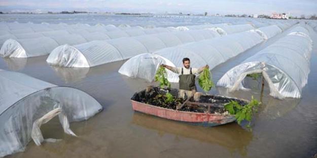 Mersin'i sel aldı... Sebze fiyatları tavan yaptı!