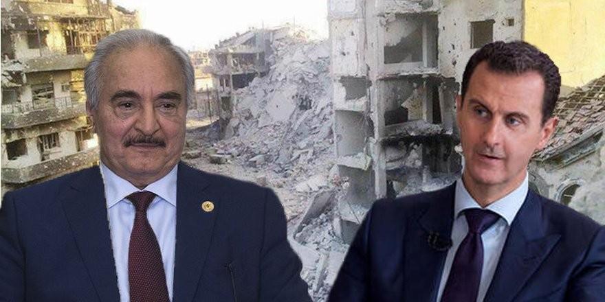 Meşru hükümet açıkladı: Esed rejiminden 'Libya' hamlesi!