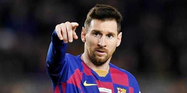 Messi, Barcelona'yı hedef aldı
