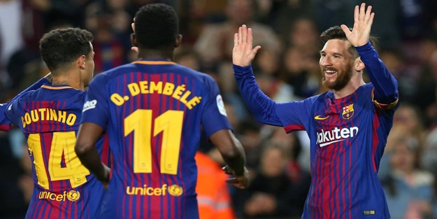 Messi gol şov yaptı! Barça farka koştu