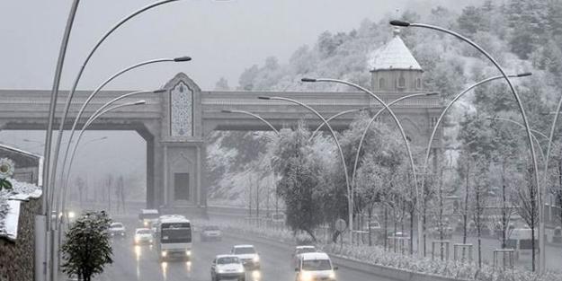 Meteoroloji Ankara hava durumu kar yağacak mı ne zaman   Ankara kar tatili var mı?