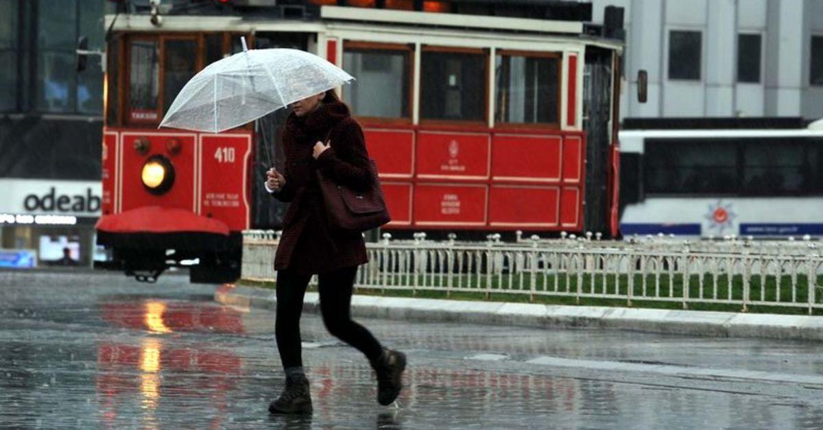 Meteoroloji tüm Türkiye'yi uyardı! Sağanak yağış etkili olacak