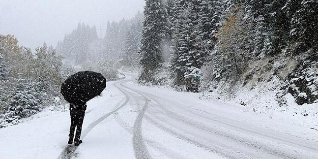 Meteoroloji uyardı! Kar yağışı geliyor