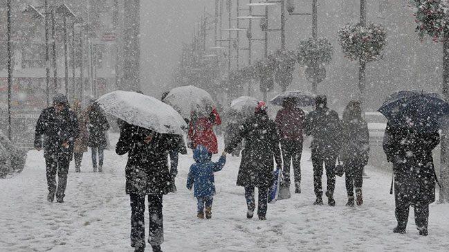 Meteoroloji'den 5 il için yoğun kar uyarısı