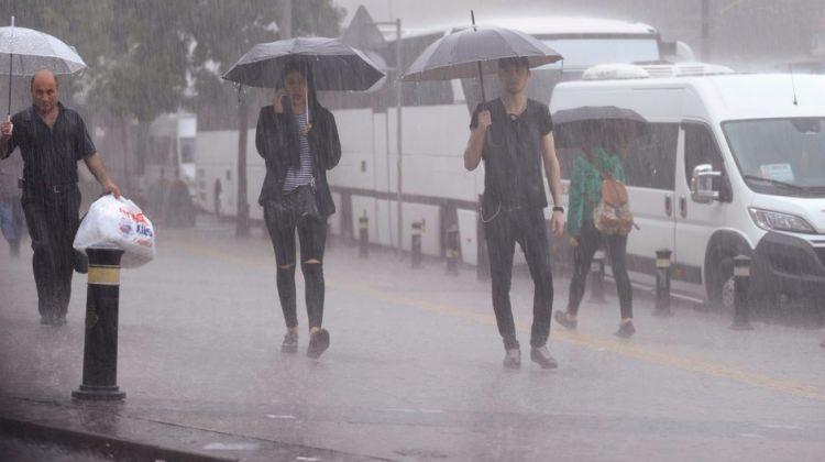 Meteorolojiden 7 il için kuvvetli yağmur uyarısı!