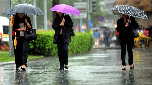 Meteoroloji'den 9 ile yağış uyarısı