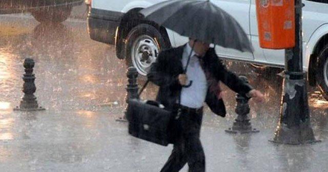 Meteoroloji'den çok kuvvetli yağmur uyarısı