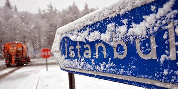 Meteoroloji'den flaş uyarı! İstanbul'a kar geliyor