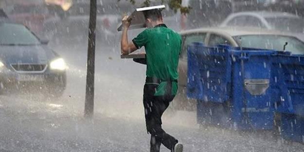 Meteorolojiden kuvvetli yağış uyarısı: 11 il için alarm verildi