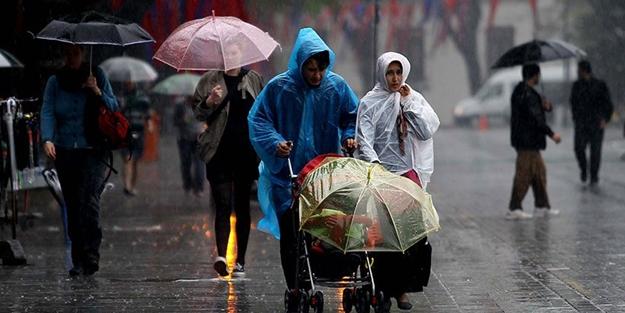 Meteoroloji'den o illere uyarı: Sağanak yağış kapıda