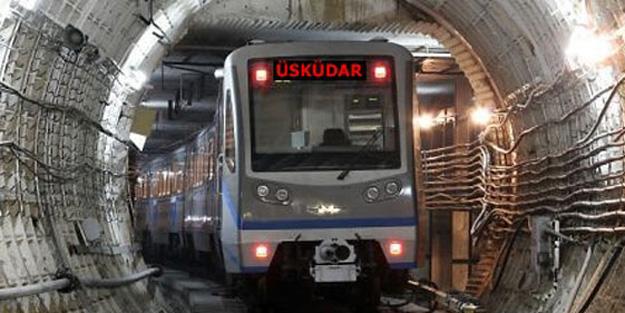 Metro şantiyesinde kaza