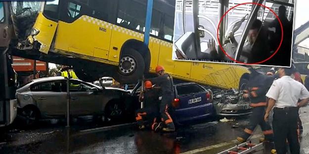 Metrobüs kazasında terör örgütü parmağı!