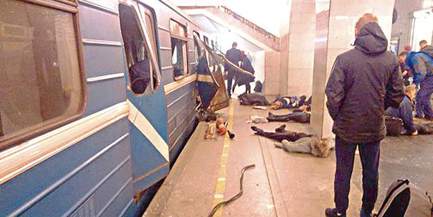 Metroda patlama: 10 ölü