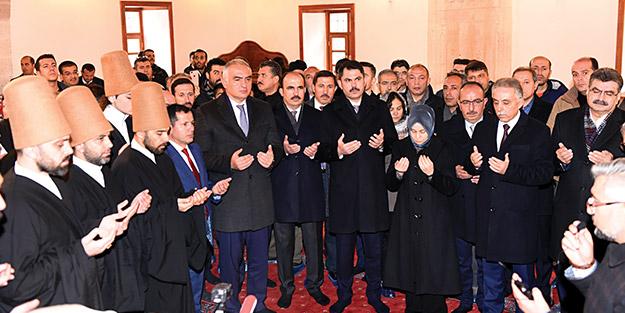 Mevlâna dostları Konya'ya akın ediyor