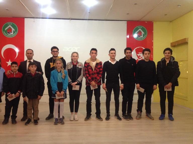 """""""Mevlidi Nebi"""" Bilgi ve Şiir Yarışması ödül töreni yapıldı"""