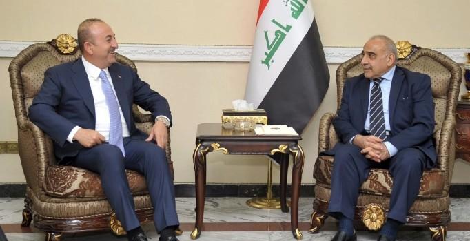 Mevlüt Çavuşoğlu, Irak'ta Abdülmehdi ile görüştü