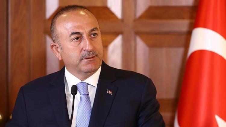 Mevlüt Çavuşoğlu Rum gazetesine konuştu
