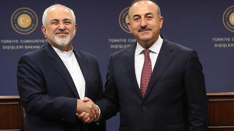 Mevlüt Çavuşoğlu'na İranlı mevkidaşından kutlama