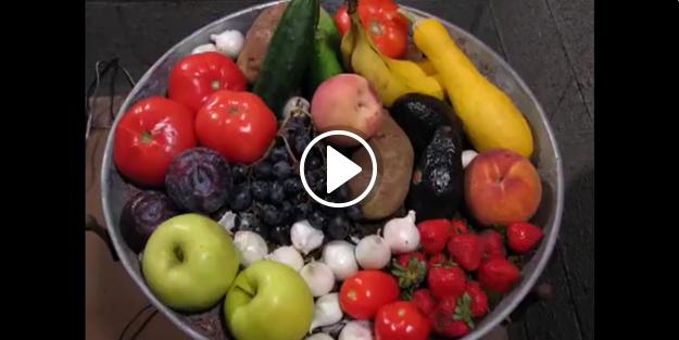 Meyve ve sebzeler 3 ayda nasıl yok oluyor? İzleyin...