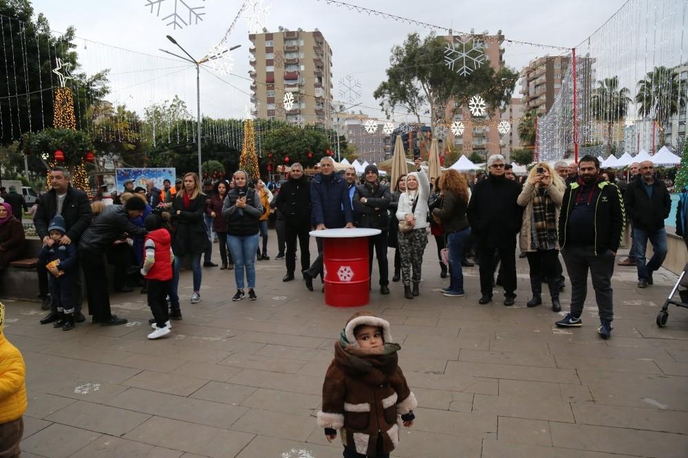 Mezitli'de 4 gün 4 gece yeni yıl kutlaması