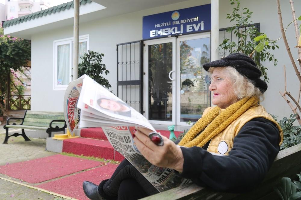 Mezitli'de bulunan emekli evi yoğun ilgi görüyor