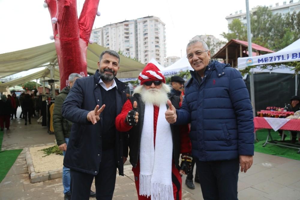 Mezitli'de yeni yıl şöleni coşkulu başladı