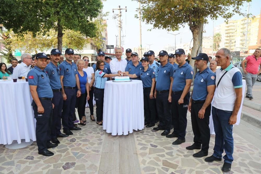 Mezitli'de Zabıta Haftası kutlandı
