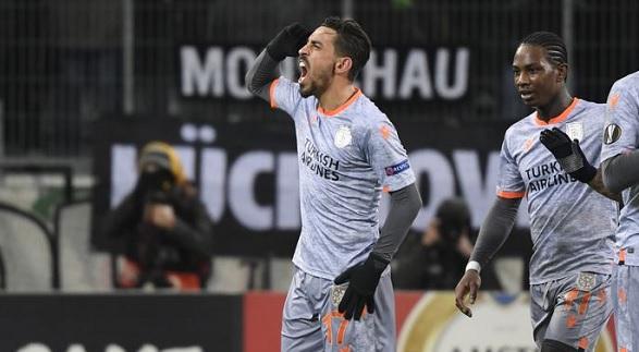 M'gladbach Başakşehir maçı kaç kaç bitti?