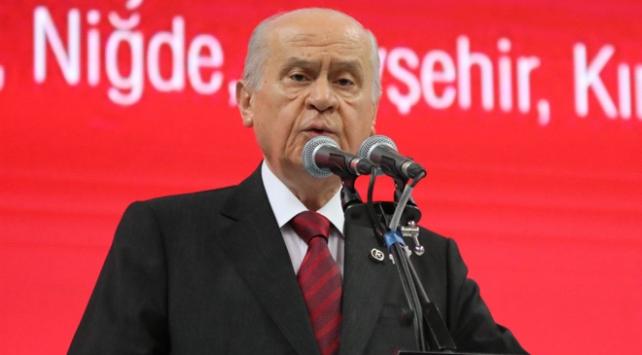 MHP Genel Başkanı Bahçeli: Türk bayrağı Afrin gibi Kandil'e de dikilmelidir