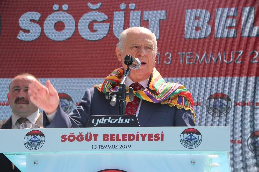 MHP lideri Bahçeli, Söğüt&te Cumhurbaşkanlığı Hükümet Sistemine son noktayı koydu
