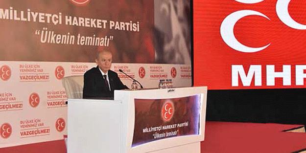 MHP Lideri çok sert konuştu: Pardon ile geçiştirilemez