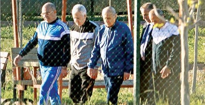 MHP lideri Devlet Bahçeli ilk kez eşofmanla görüntülendi