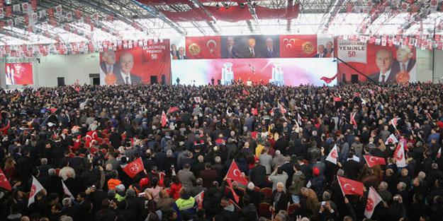 MHP töreninde AK Parti sürprizi