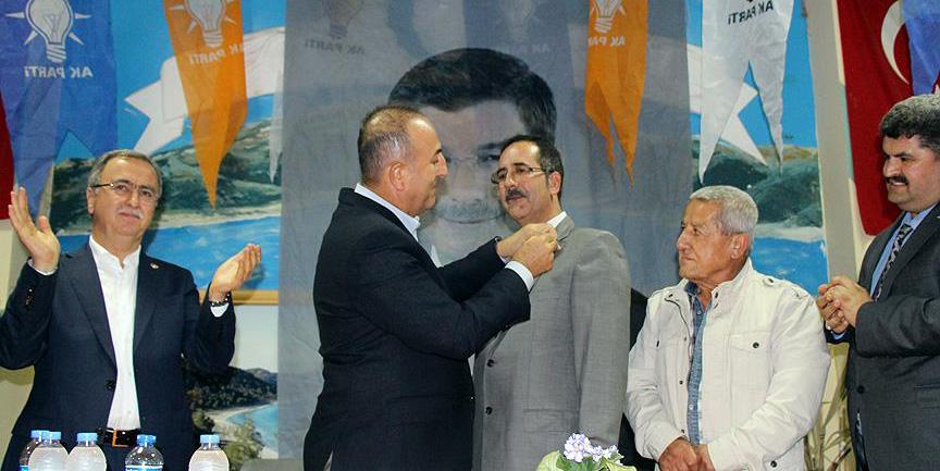 O ilçe başkanları AK Parti'ye katıldı