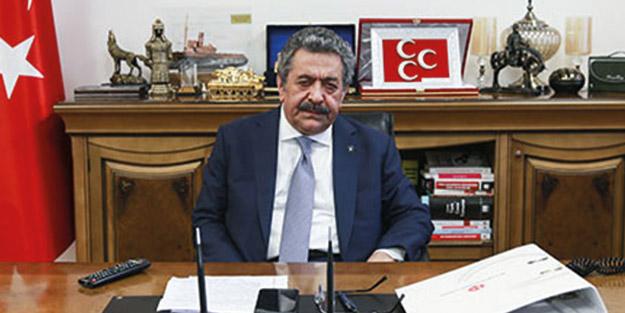 MHP'den Davutoğlu'na sert cevap! 'İbretlik bir savrulma içinde'