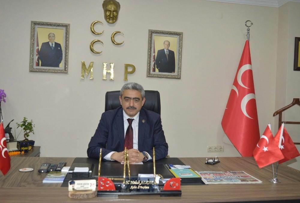 """MHP'li Alıcık; """"Esnaf ve çiftçimizin sorunlarına çare bulacağız"""""""