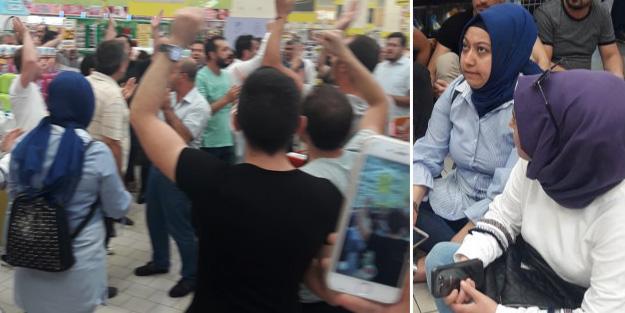 Migros'un tazminat sözünü tutmadığı işçiler darp edilerek gözaltına alındı