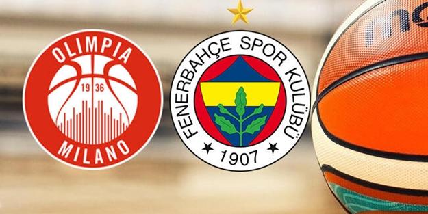 Milano Fenerbahçe Euroleague maçı ne zaman saat kaçta hangi kanalda?