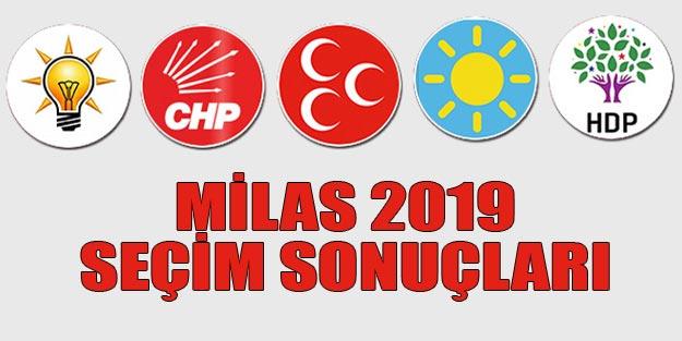 Milas seçim sonuçları 2019 | Muğla Milas 31 Mart seçim sonuçları oy oranları