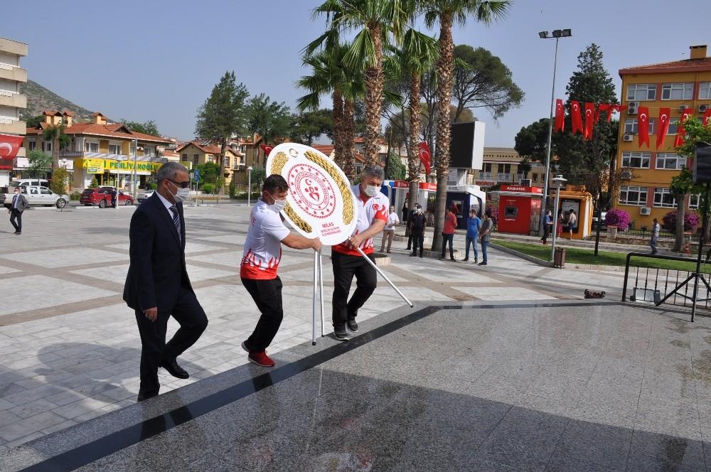 Milas'ta 19 Mayıs kutlamaları başladı