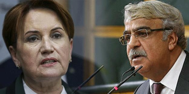 Millet İttifakı'nda çatlak büyüyor! HDP'den Akşener'e salvo geldi