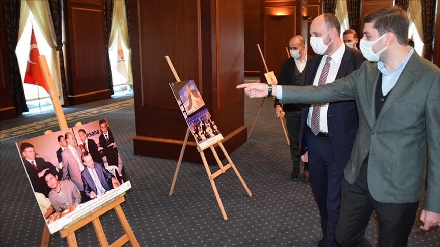 'Milletine adanmış bir ömür' Erdoğan sergisi