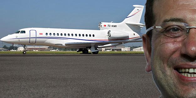 Milletten 20 TL isteyen CHP'liler özel uçakta keyif sürüyor!