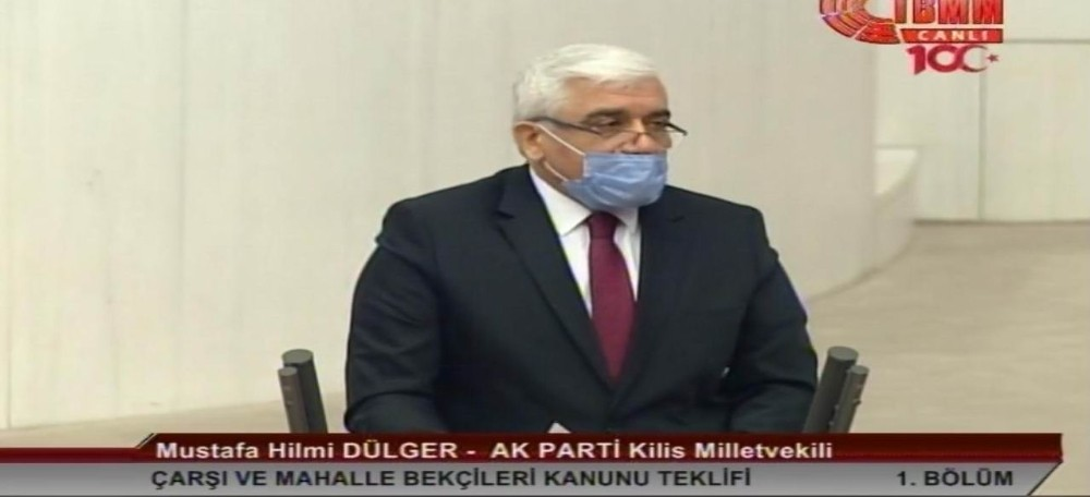 Milletvekili Dülger'den bekçilere destek