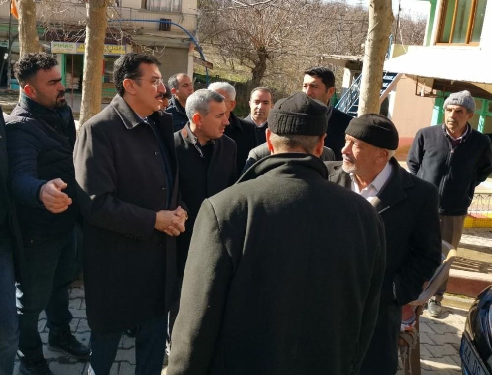 Milletvekili Tüfenkci, Doğanyol'da incelemelerde bulundu