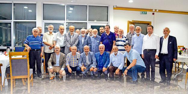 Milli Gazete'de çalışmış eski dostlar iftarda buluştu