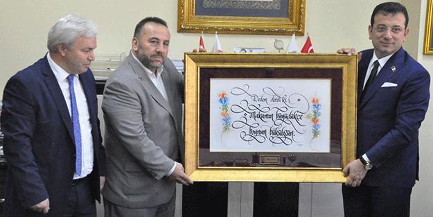 Milli Gazete'de Ekrem İmamoğlu'na verilen tabloda dikkat çeken mesaj