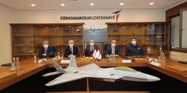 Milli Muharip Uçak'ta kritik gelişme! İmzalar atıldı